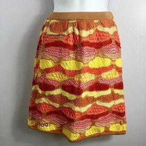 Coogi Australia Pull On Knit Sweater Skirt
